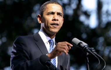 Obama: Jobs news 'modestly encouraging'